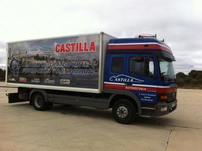 Rotulación flota de Camiones en ZAMORA