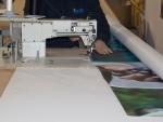 Costura textiles impresos