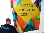 Mural textil
