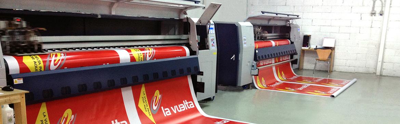Confíenos sus trabajos de impresión en gran formato